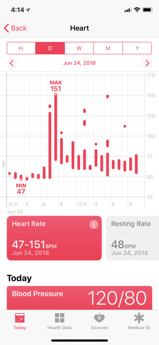 HealthApp-HeartRate