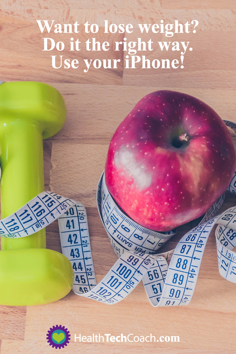 Want to lose weight? Do it the right way. Use your iPhone!