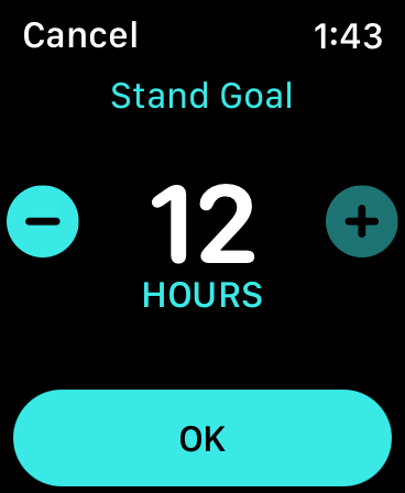 Activity-App-Change-Stand-Goal