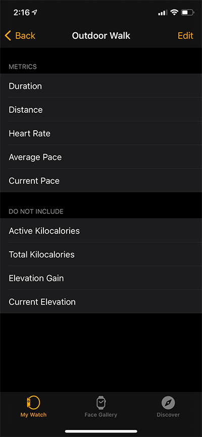 Outdoor-Walk-Metrics